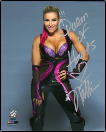 SIGNED GLOSSY WWE DIVA PHOTOS
